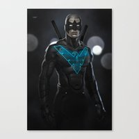 Nightwing 02 Canvas Print