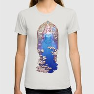 A Kingdom Of Isolation Womens Fitted Tee Silver SMALL