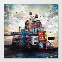 Urban Perspective Canvas Print