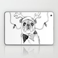 Jingle Pug Laptop & iPad Skin