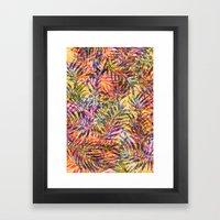 Plants Everywhere Framed Art Print