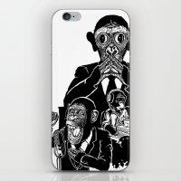 Three Wise Monkeys iPhone & iPod Skin