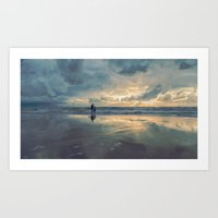 The Cape Of Storms Art Print
