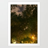 Through The Tunnel Of Dr… Art Print
