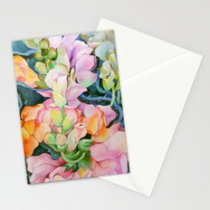 Colorful in the dark Stationery Cards