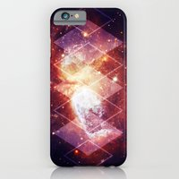 iPhone & iPod Case featuring Shining Nebula - Red by Stefan Trudeau