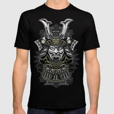 Samurai Mens Fitted Tee Black SMALL