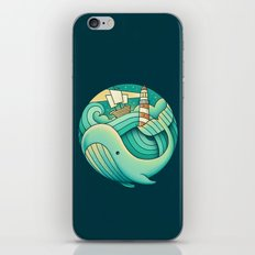 Into the Ocean iPhone & iPod Skin