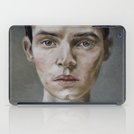 portrait (shiver) iPad Case