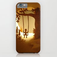 iPhone & iPod Case featuring Swing (Balançoire) by Anastassia Elias