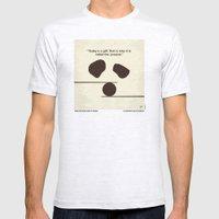 No227 My KUNG FU Panda minimal movie poster Mens Fitted Tee Ash Grey SMALL