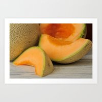 Fresh Ripe Delicious Can… Art Print
