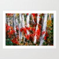Vermont Fall Autumn Tree… Art Print