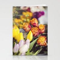 Market Tulips Stationery Cards