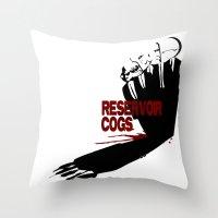 Reservoir Cogs Throw Pillow