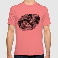 One Of A Kind Mens Fitted Tee Pomegranate SMALL