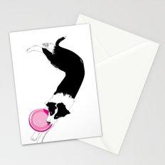 Disc Dog - Border Collie Stationery Cards