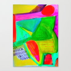 Marina I - Abstract Painting Canvas Print