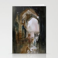 Under the Ali Qapu palace Stationery Cards