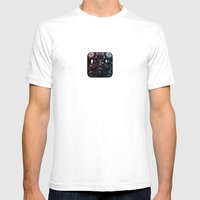 TIE Fighter Pilot Mens Fitted Tee White SMALL
