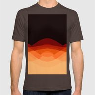 T-shirt featuring Orange Black Ombre by SimpleChic