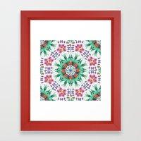 FLIGHT Cloudberry Mandal… Framed Art Print