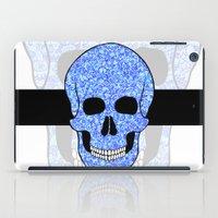 Blue Skull iPad Case