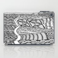 Zentangle Fields Of Drea… iPad Case