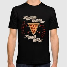 Everything Reminds Me of You SMALL Mens Fitted Tee Black
