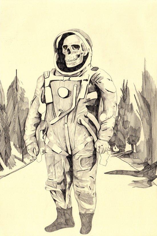 Space Kook Art Print