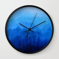 Mists No.4 Wall Clock