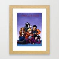 The Class Breakfast Club Framed Art Print