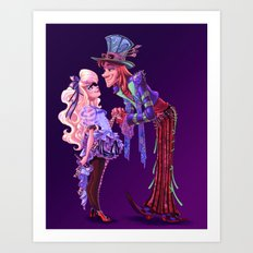 Mad For You Art Print