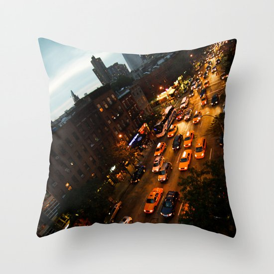 9th Avenue Throw Pillow
