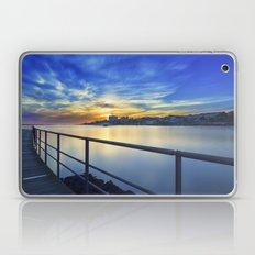 Smooth river. Laptop & iPad Skin