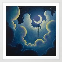 Wishing Swing 4 Art Print
