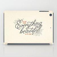 EVERYTHING BEAUTIFUL iPad Case