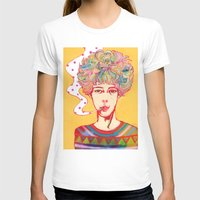 Oh No Ono Womens Fitted Tee White SMALL