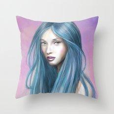 EmoPink Throw Pillow