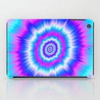 Boom in Blue and Pink iPad Case