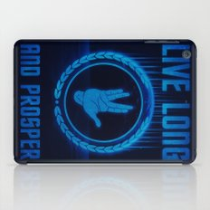 Live Long and Prosper - Spock's hand - Leonard Nimoy Geek Tribut iPad Case