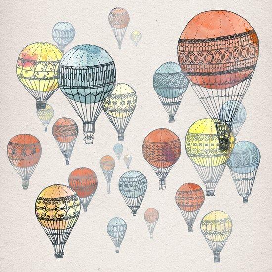 Voyages Canvas Print