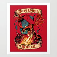 Destroyer Of Worlds Art Print