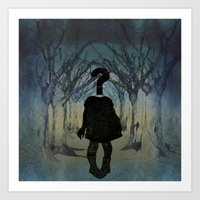 Into The Wild. Question … Art Print
