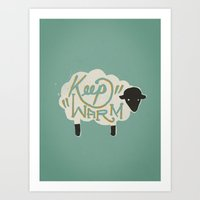 Keep Warm Art Print