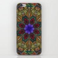 Hallucination Mandala 1 iPhone & iPod Skin