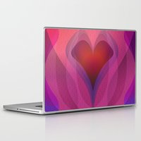 Laptop & iPad Skin featuring Coeur by Tracey Chan Design
