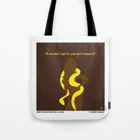 No127 My FROM DUSK TILL DAWN minimal movie poster Tote Bag
