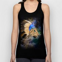 Fight For What You Love (Chief of Dreams: Leopard) Tribe Series Unisex Tank Top