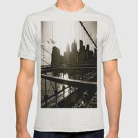 WHITEOUT : Take Me There Mens Fitted Tee Silver SMALL